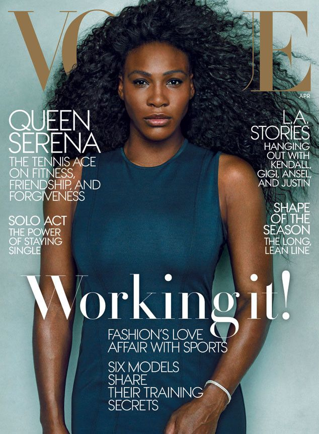 Serena Williams Looks Phenomenal on History-Making Cover of Vogue?See the Pics! | E! Online Mobile