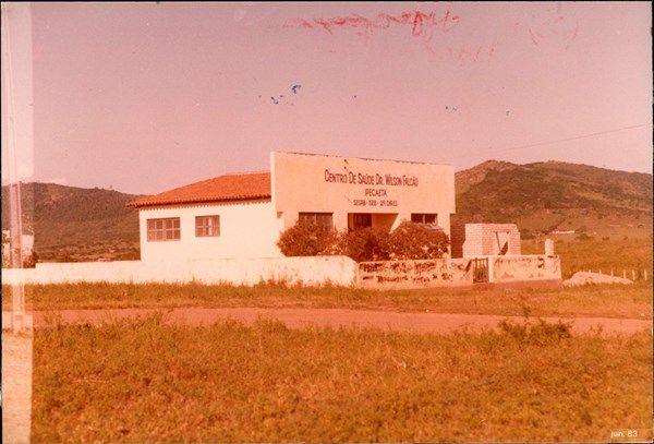 Centro De Saude Dr Wilson Falcao Ipecaeta Ba 1983 Bahia