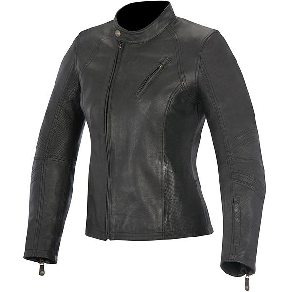 Alpinestars Shelley Ladies Leather Jacket - Black