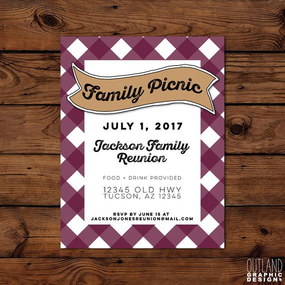 37 Best Family Reunion Invitation Images On Pinterest Family   Family  Reunion Flyer  Family Reunion Flyer