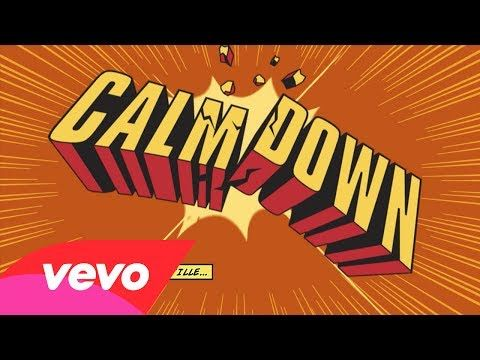 "JESSIE SPENCER: Busta Rhymes featuring Eminem - ""Calm Down"" (Official Lyric Video)"
