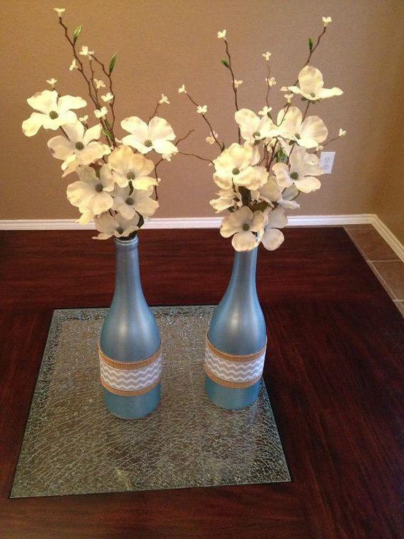 Spring Wine Decor by loveThreeTwentyThree on Etsy, $30.00