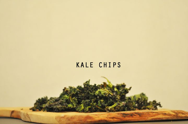 i've heard so many good things about kale and making kale chips... a must-do!
