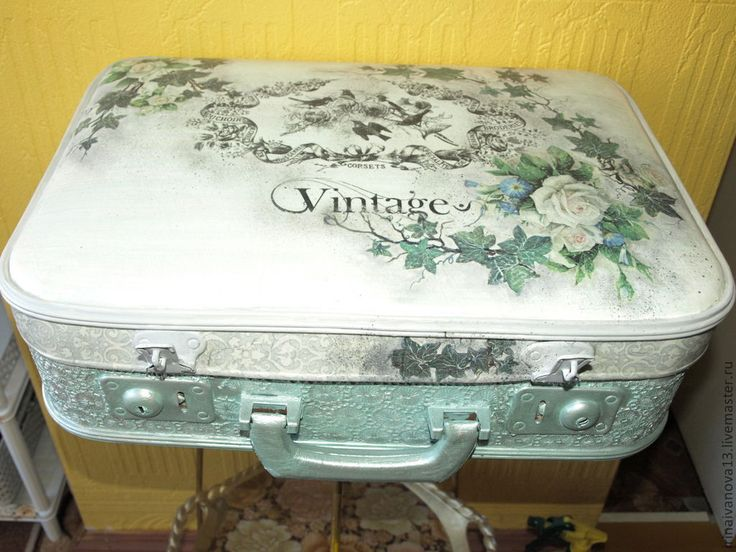 Купить Чемодан. Винтаж. - старый чемодан, реставрация, реставрация чемодана…