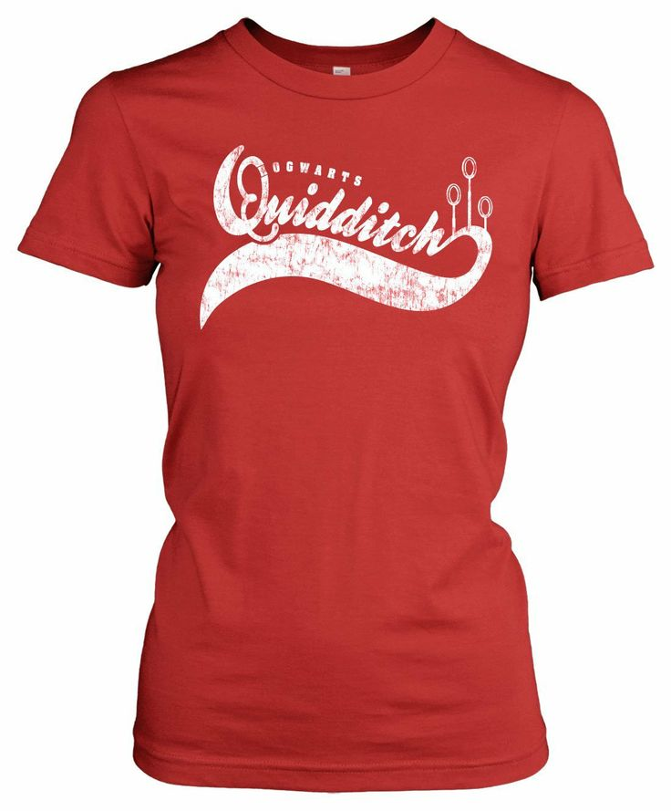 Womens Quidditch Sports T Shirt Funny Shirt With A