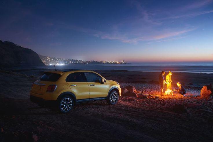 Idealny samochód na idealny wieczór. #Fiat500X