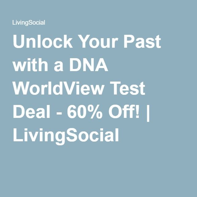 Unlock Your Past with a DNA WorldView Test Deal - 60% Off! | LivingSocial