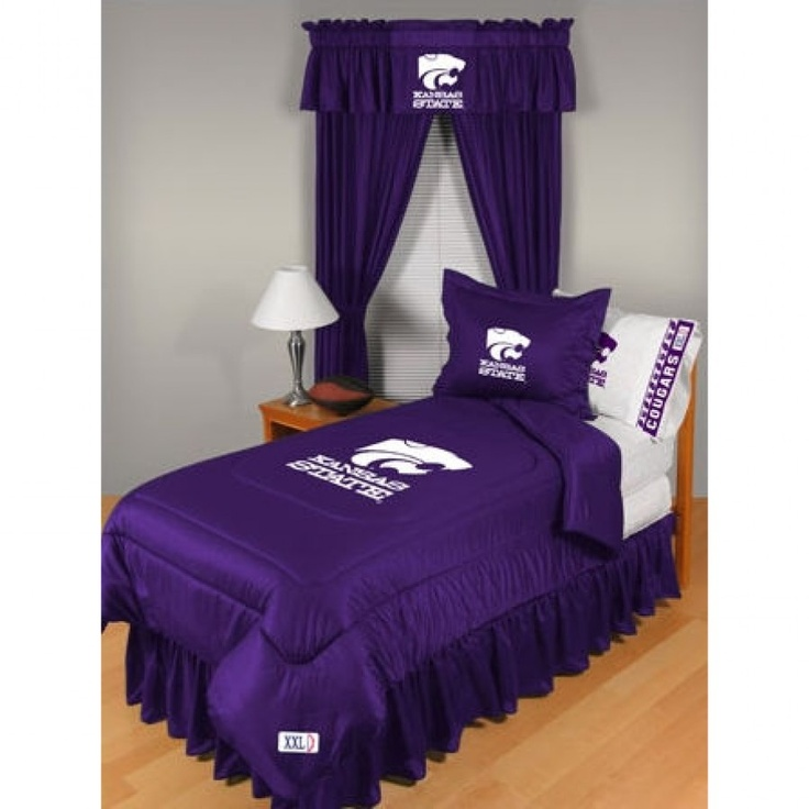 San Diego Chargers Bedding: Sports Coverage Kansas State University Wildcats Bedding