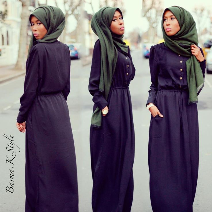 The best abaya I've seen in a while.