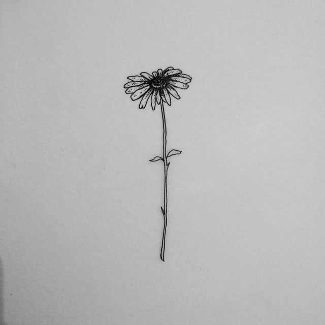 Image result for simple flower tattoo