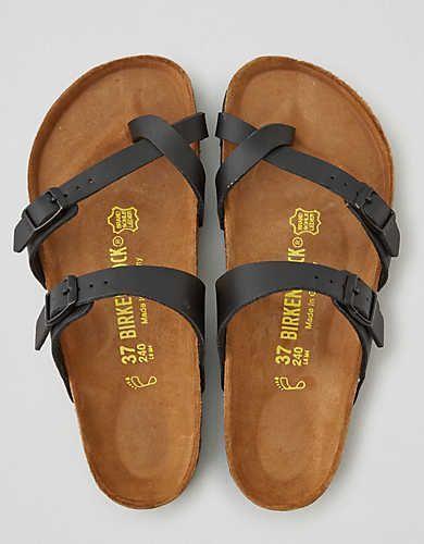 Birkenstock Mayari Sandal  Black   American Eagle Outfitters