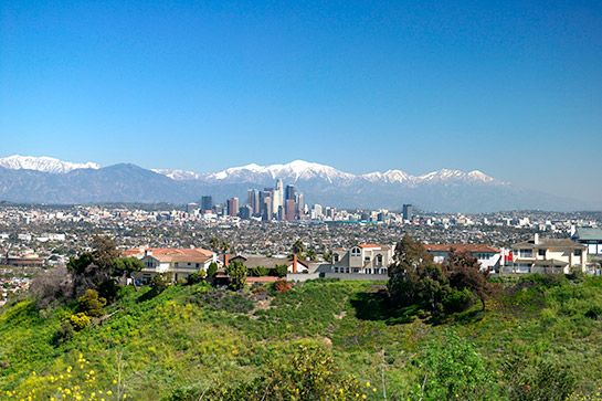 Kenneth Hahn Park%0AThis dog-friendly, 300-acre park is truly a hidden gem in L.A.; it feels like you're in the middle of nowhere, when in reality it's just minutes off the freeway. Boasting a Japanese garden, trails for hiking and biking, and green space aplenty, it's the perfect spot to spend a quiet afternoon. Just sit and take in the sweeping views of the city — because sometimes the best way to relax is by doing absolutely nothing.%0AKenneth Hahn Park, 4100 South La Cienega Boulevard…