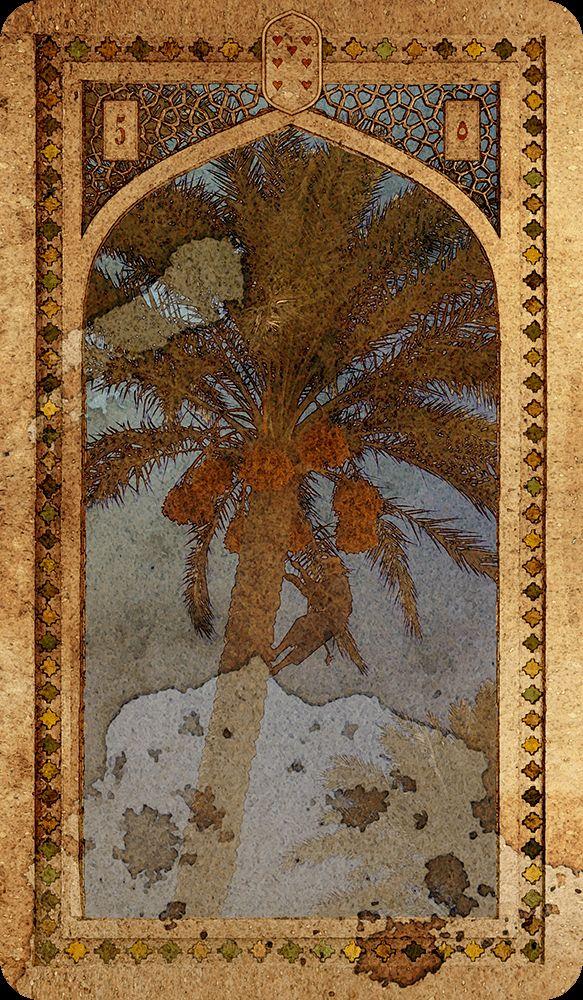 OLD ARABIAN LENORMAND Tree Cartomancy, Tarot decks