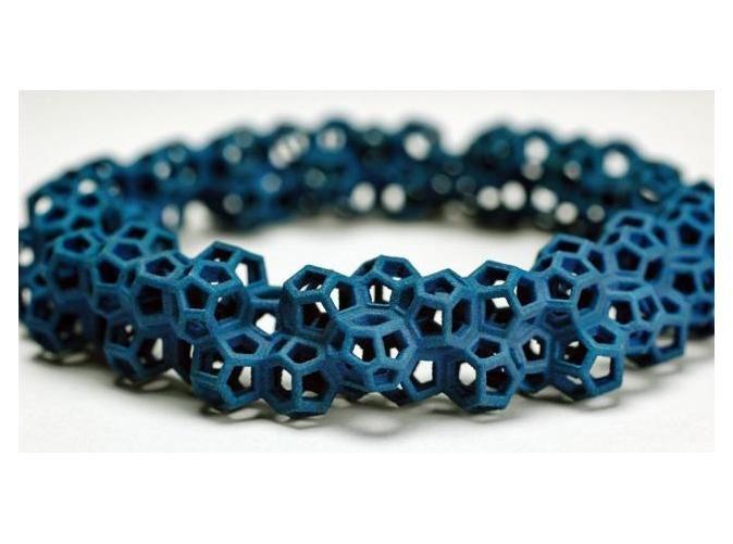 Weaire–Phelan bracelet by RiccardoBovo