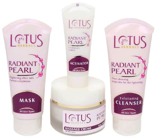 Lotus Radiant Pearl Facial Kit Buy Online at lowest price in India: BigChemist.com
