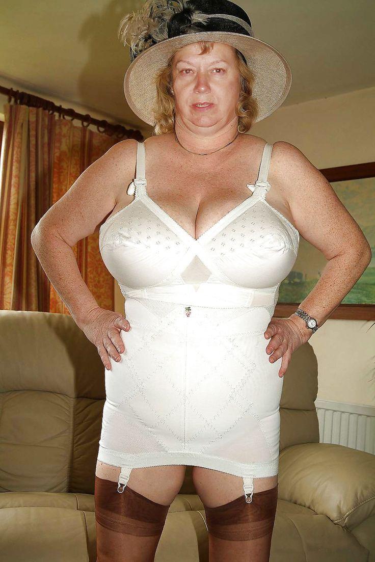 Old mature lingerie