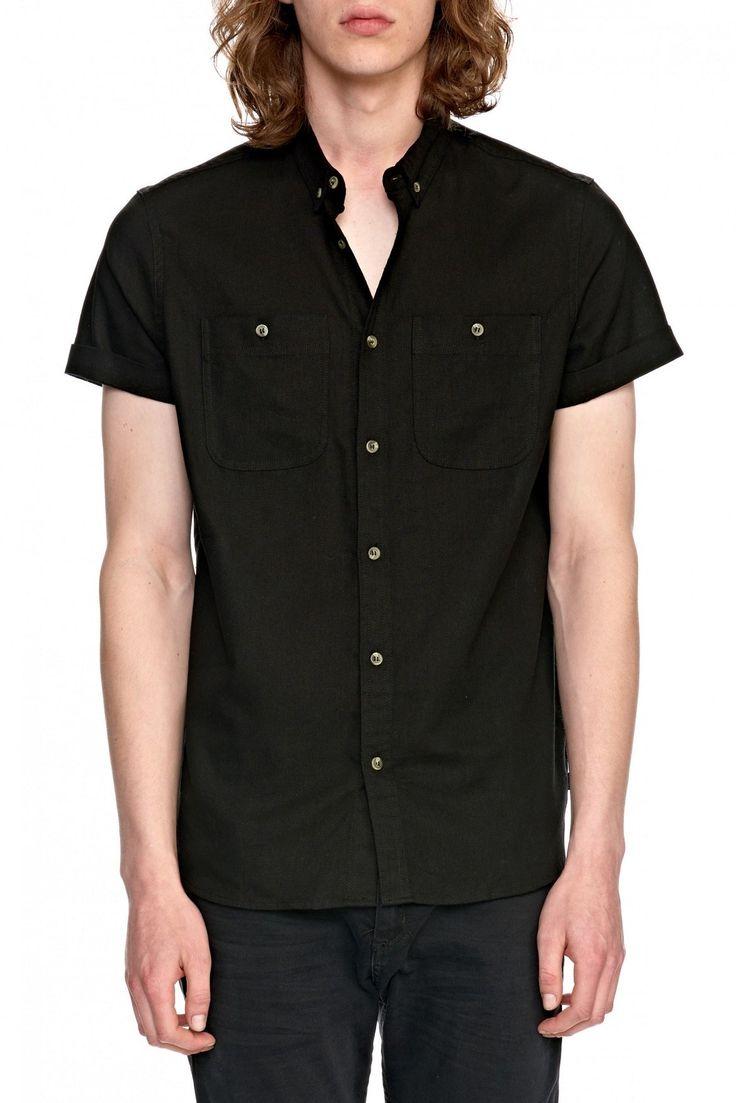 ROLLAS - Men At Work Short Sleeve Linen Shirt