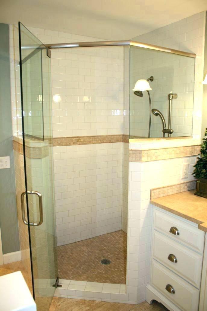 Half Wall Shower Glass Shower Glass Panel Half Wall Half Wall Shower Glass Medium Size Of Door With Half Wall Shower G Half Wall Shower Glass Shower Half Walls