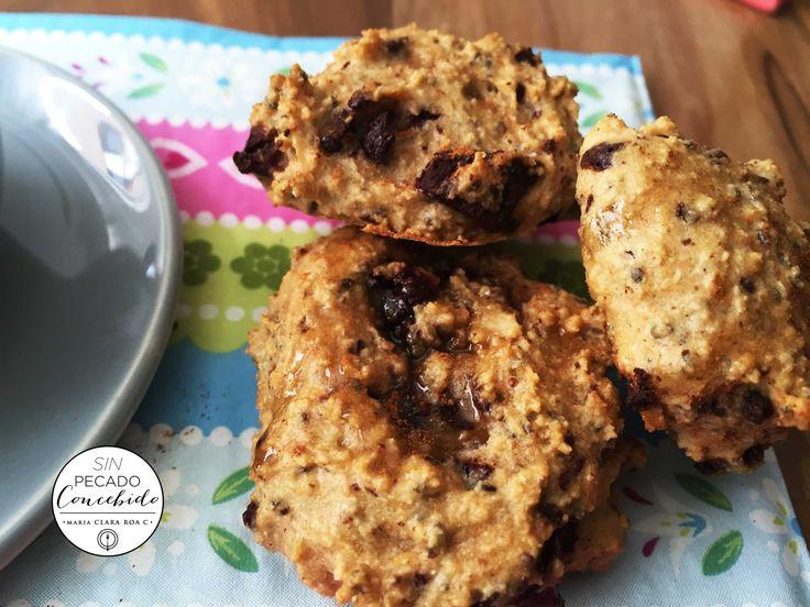 Penut & Chocolate Cookies , so healthy so easy!
