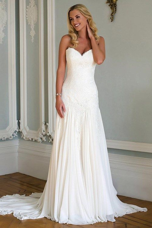 KleinfeldBridal.com: Augusta Jones: Bridal Gown: 33299355: Fit and Flare: Dropped Waist