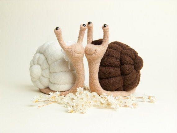 Plush snails