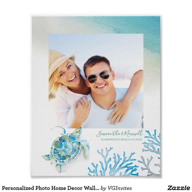 Personalized Photo Home Decor Wall Art | Zazzle.com