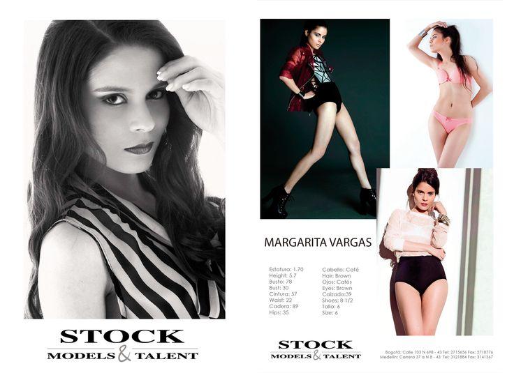 Margarita Vargas - Modelo Stock Models -