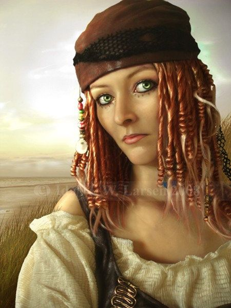 Pirate Wench - Print