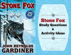 Stone Fox Study Questions & Activity Ideas {FREE}