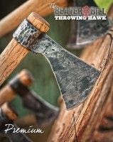 These tomahawks are highly favored by throwers of all levels and abilities. All Beaver Bill Hand Forged Throwing Tomahawks are regulation size for use in competitions and come with standard straigh…
