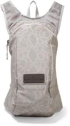 adidas by Stella McCartney Metallic Printed Shell And Mesh Backpack
