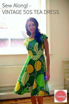Vintage Tea Dress free pattern