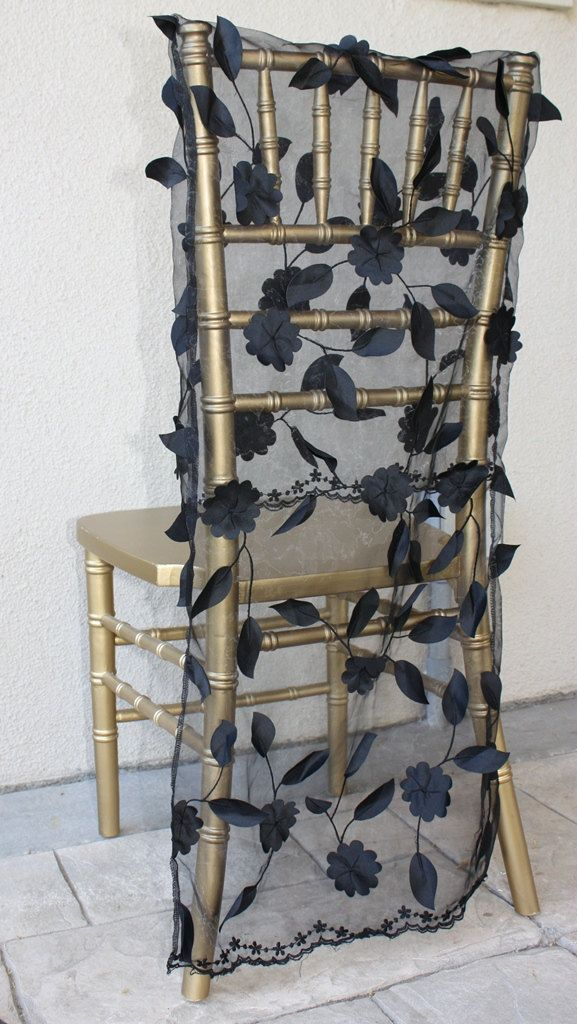 Wedding Chair Cover for Chiavari Chair. $60.00, via Etsy.