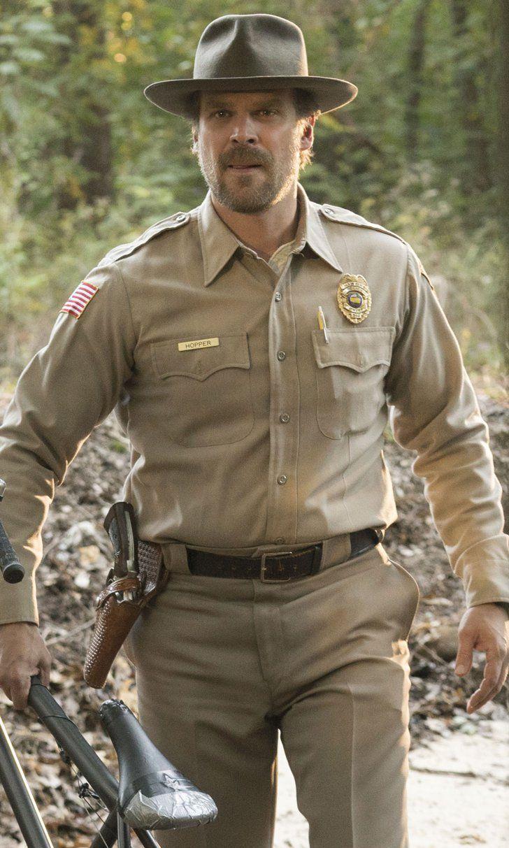 Stranger Things Chief Hopper