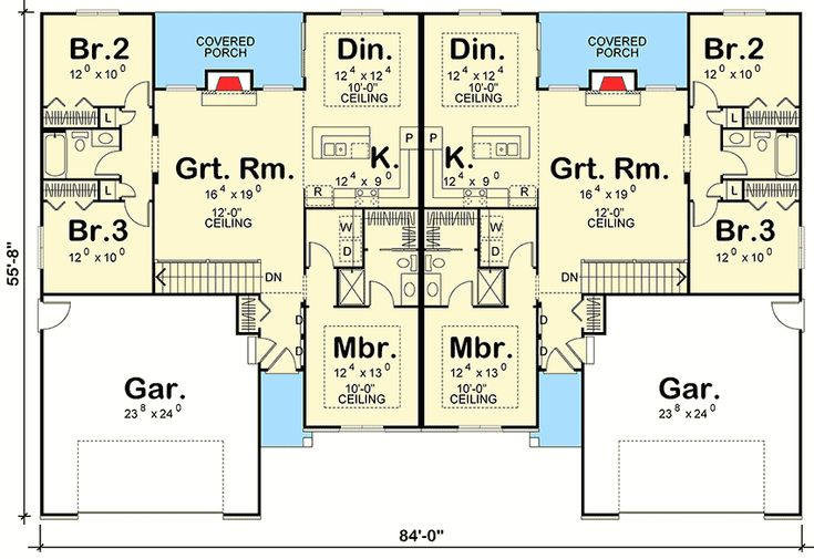 One Car Garage Apartment Floor Plans