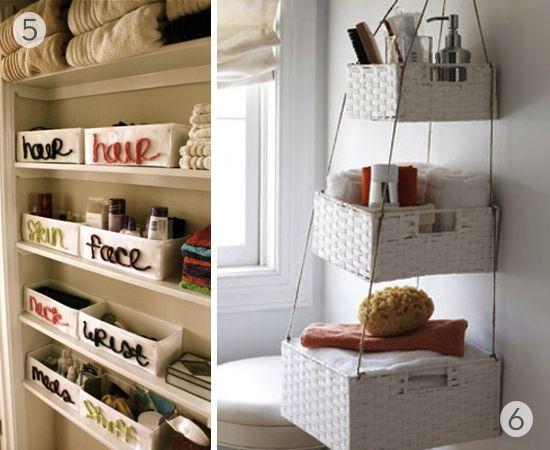 Roundup: 9 DIY Bathroom Organization and Storage Ideas » Curbly | DIY Design Community