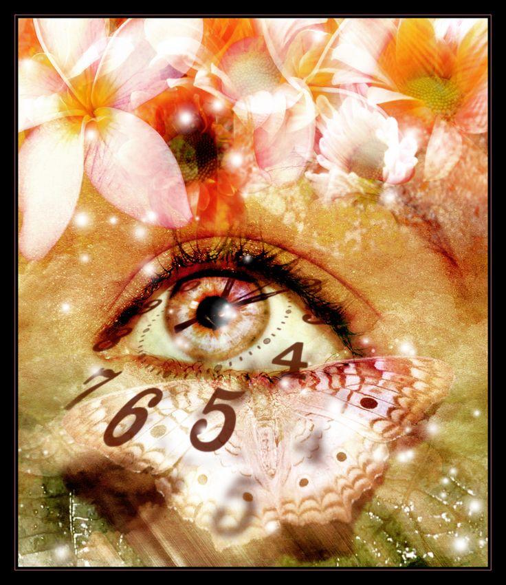 eye through time photo manipulation