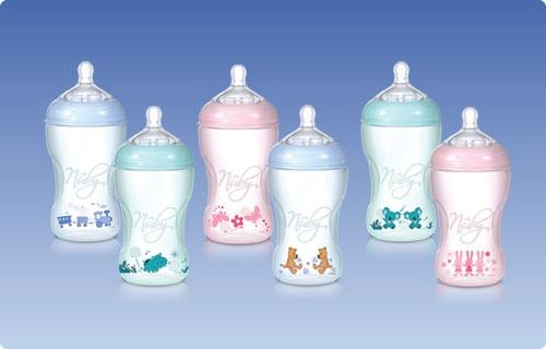 STEP 2: biberon standard  Ideali per l'allattamento continuativo  i biberon in polipropilene riciclabile sono perfetti per quando il vostro bimbo è già abituato a bere da un biberon.