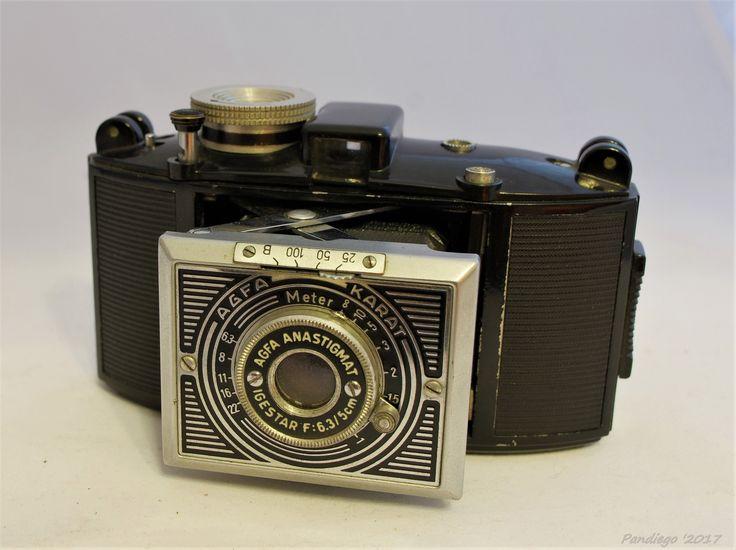 AGFA Karat 6.3 / 35mm film casette camera (1937)