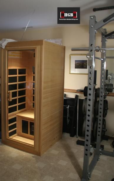 Far Infrared Sauna. If you have the space and can afford one, a sauna is a worthwhile addition to your home gym set-up.