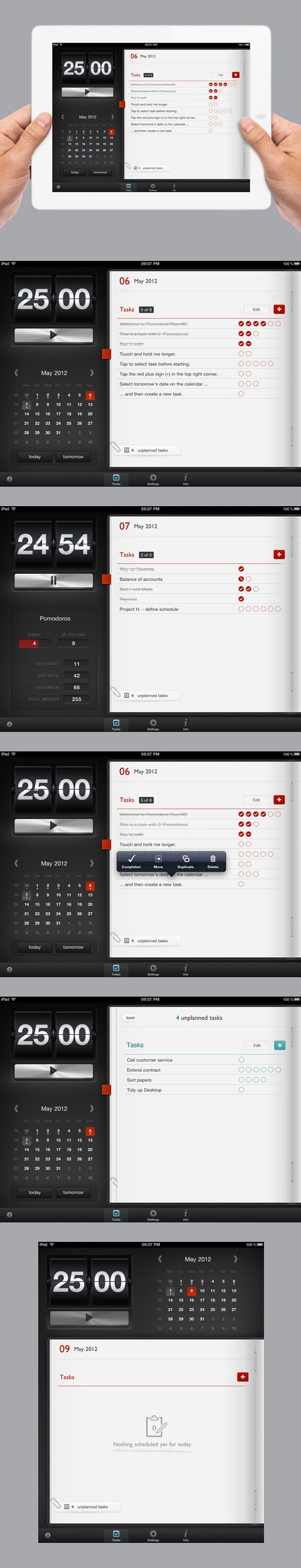 Pomodoro Plus HD - Time Management Tool