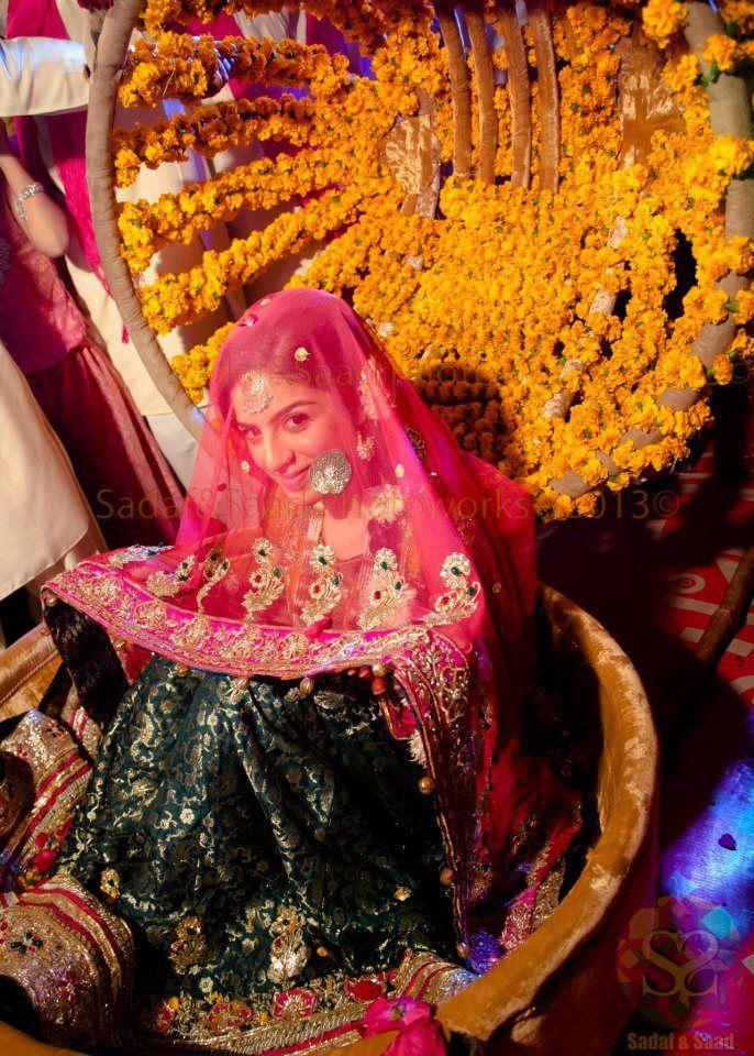 mehndi lehnga - Pakistani bridal fashion