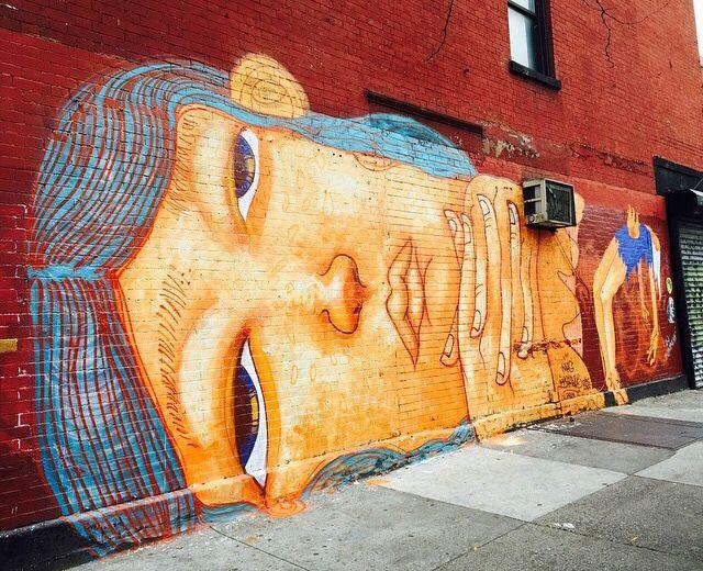 WallWord by… @streetartgalerie www.streetartgalerie.com by Mag Magrela - East Village, NYC - 11/14 (LP)