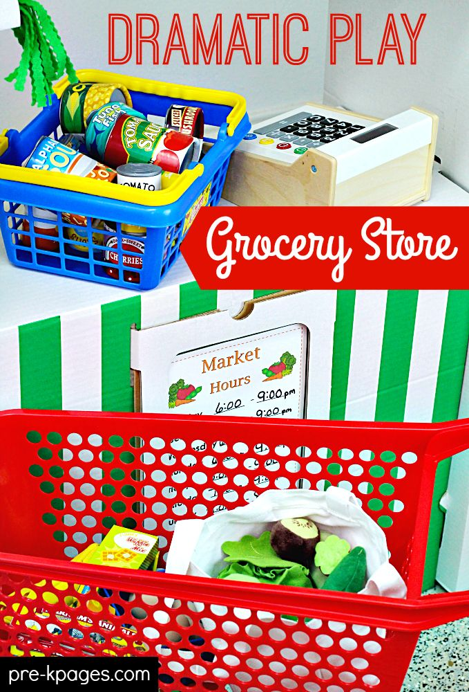 ... Play on Pinterest | Grocery store, Dramatic play and Pretend play