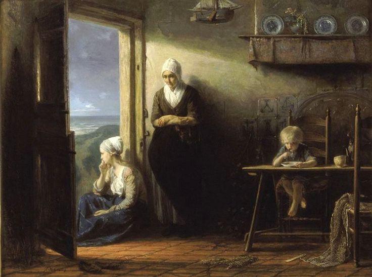 Jozef Israels (1824-1911)Na de storm