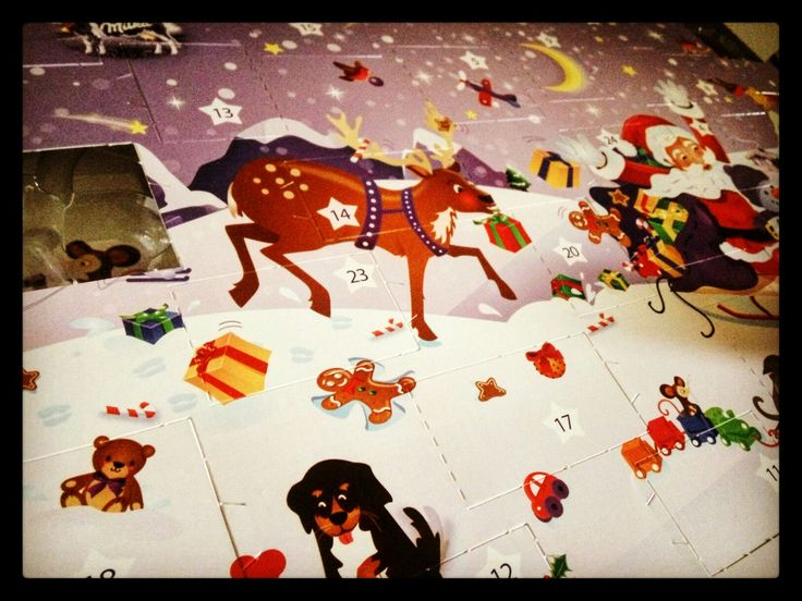 Seid Ihr auch schon brav dabei die Türchen zu öffnen?   Tagt uns auf Eurem Kalender und vll. haben wir einen kleinen Gutschein für Euch parat :)  #advent #kalender #milka #schoki #lecker #schokolade #adventskalender #gutschein #tür #christmas #tsz #parcel #rednose #Weihnachten