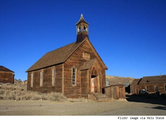Bodie, California- abandoned city, gold mining outpost: Gold Rush, Sierra Nevada, Largest Cities, Abandoned Cities, Body Church, Ghosts Town, Abandoned Dreams, Body California, Abandoned Church