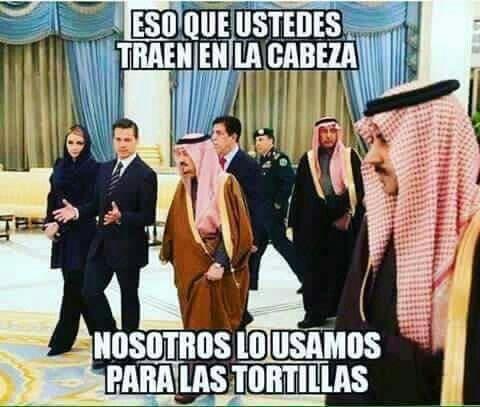 Ir por las tortillas segun Peña Nieto