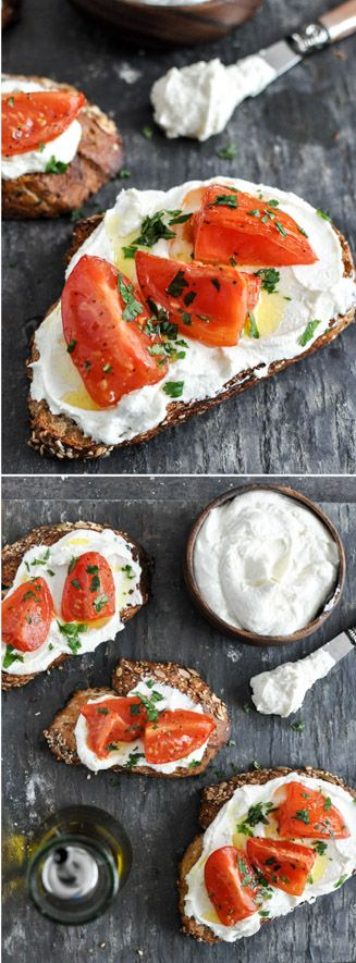 How to make Whipped Feta! The most fabulous appetizer, snack or lunch. I howsweeteats.com