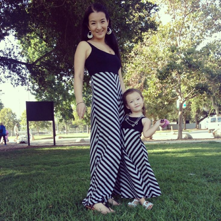 Mommy and me style, mommy and daughter outfit